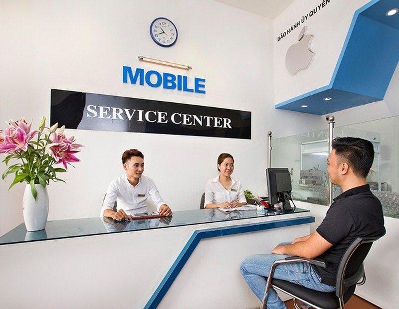 Nhân viên tại MSmobile